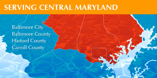 Serving Central Maryland: Baltimore City, Baltimore County, Harford County, Carroll County